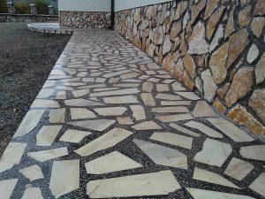 6 mozaic venetian marmura alba